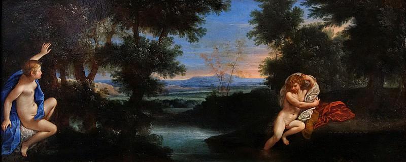 Албани, Франческо (Болонья 1578-1660) -- Гермафродит и Салмакида. часть 6 Лувр