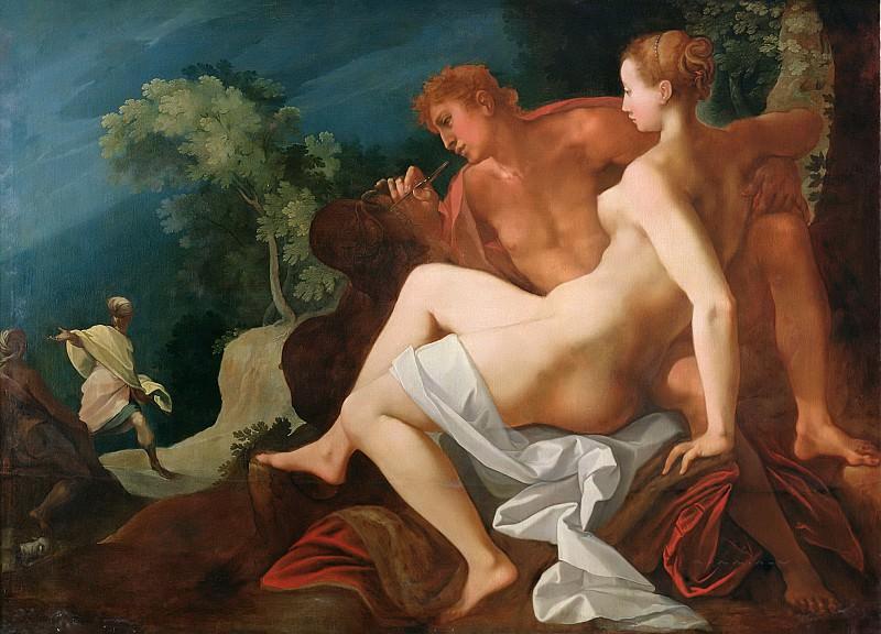 Дюбрей, Туссен (Париж 1561-1602) -- Анжелика и Медор. Part 6 Louvre