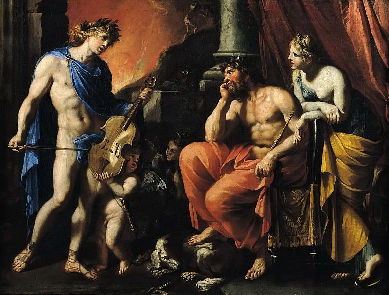 Перье, Франсуа (c.1594 Понталье - 1649 Париж) -- Орфей перед Плутоном и Персефоной. Part 6 Louvre