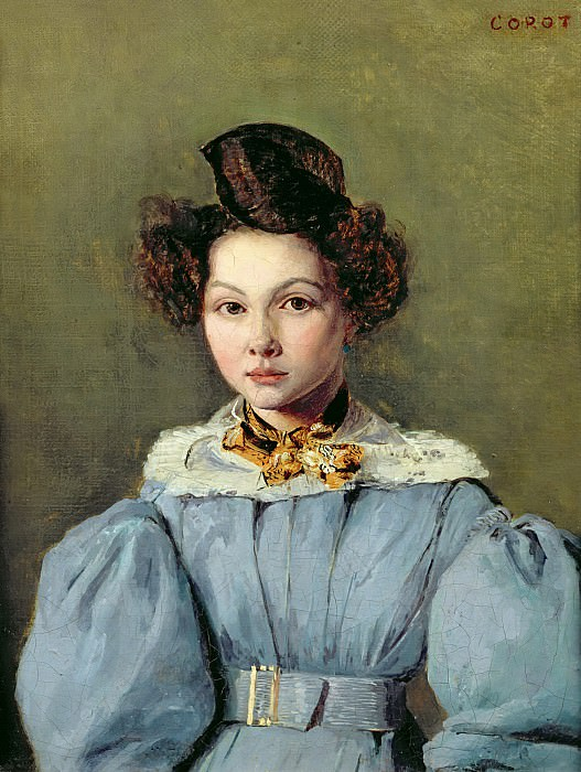 Коро, Жан-Батист-Камиль (Париж 1796-1875) -- Мария-Луиза Сеннегон. Part 6 Louvre