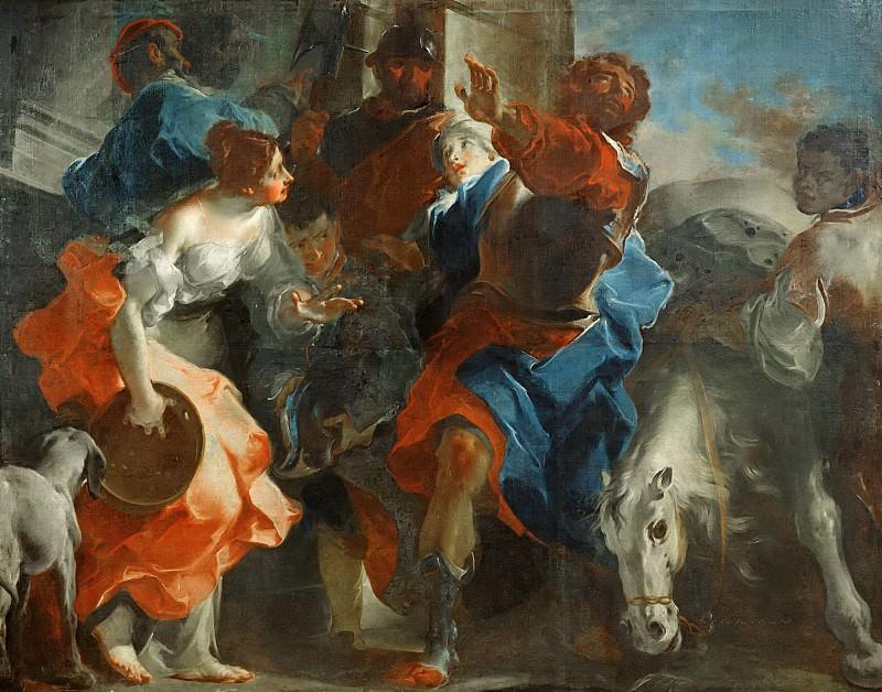 Баццани, Джузеппе (Мантуя 1690-1769) -- Иеффай и его дочь. часть 6 Лувр