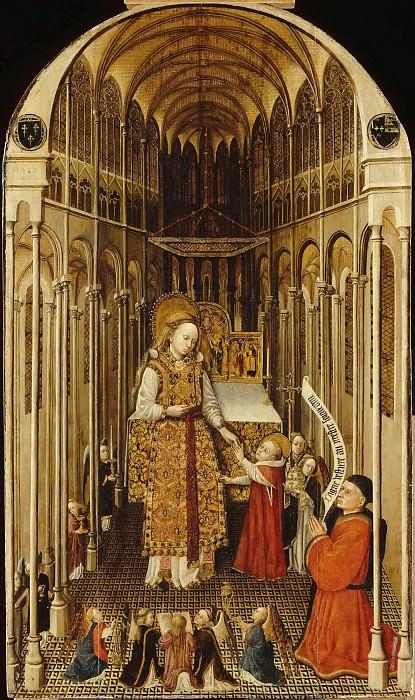 School of Amiens -- Priesthood of the Virgin (Le sacerdoce de la Vierge). Part 6 Louvre