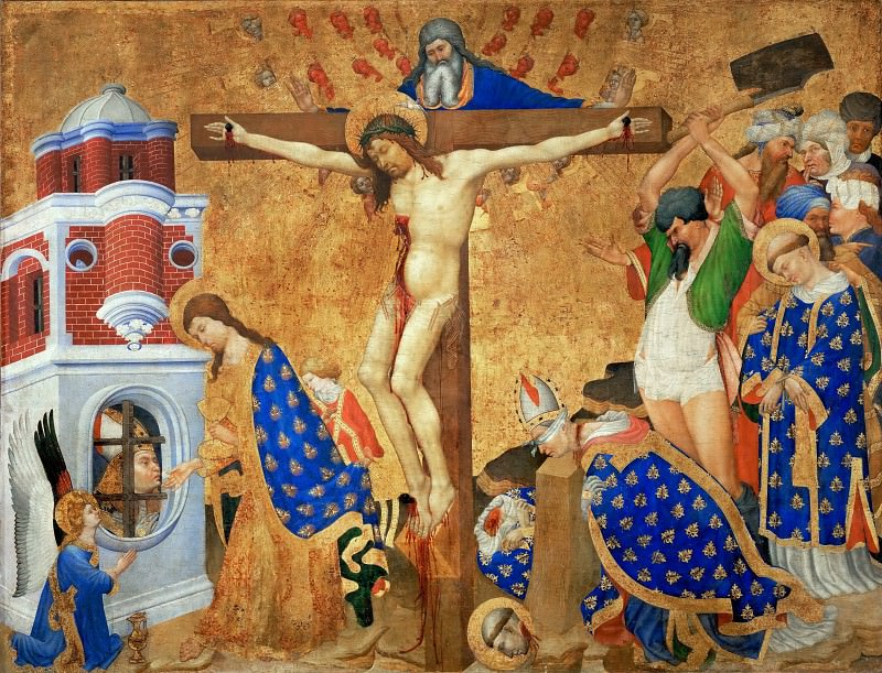 Henri Bellechose (active 1415-before 1445) -- Communion and Martyrdom of Saint Denis. Part 6 Louvre