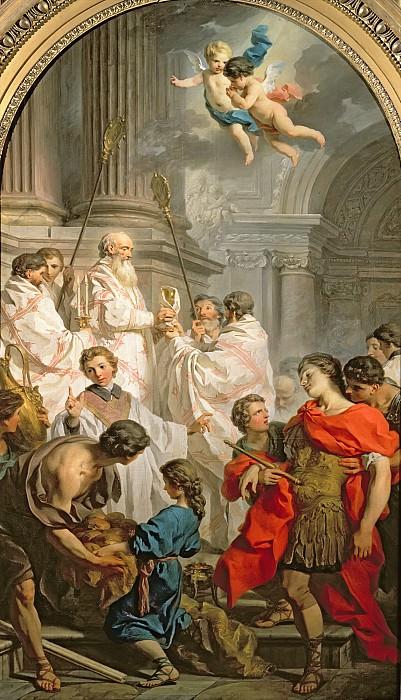 Сюблейра, Пьер-Юбер (1699 Сен-Жиль дю Гар - 1749 Рим) -- Месса святого Василия. часть 6 Лувр