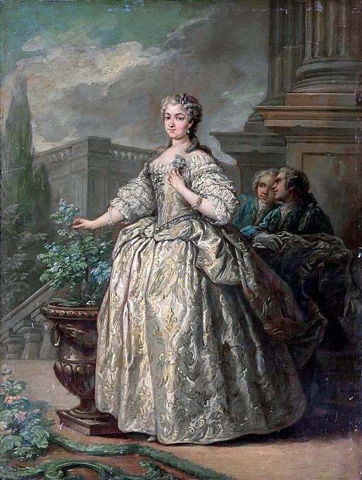 Ло, Шарль ван (1705 Ницца - 1765 Париж) -- Королева Мария Лещинска. Part 6 Louvre
