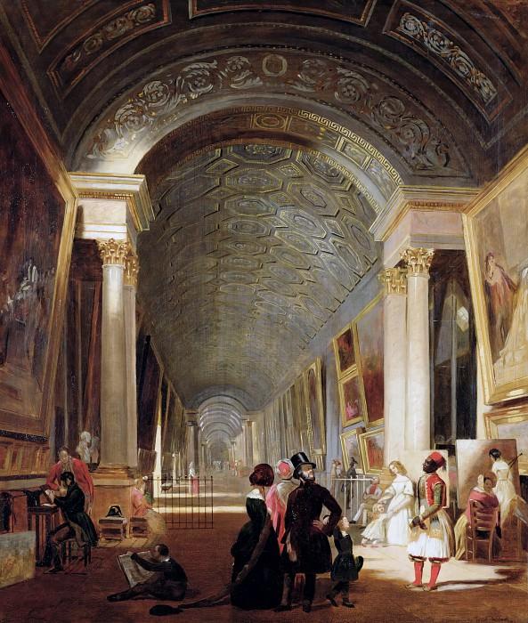 Аллен-Фрейзер, Патрик (1813-1890) -- Большая галерея Лувра. Part 6 Louvre