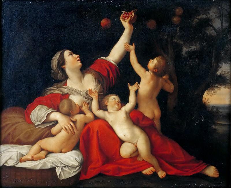 Албани, Франческо (Болонья 1578-1660) -- Чадолюбие. часть 6 Лувр