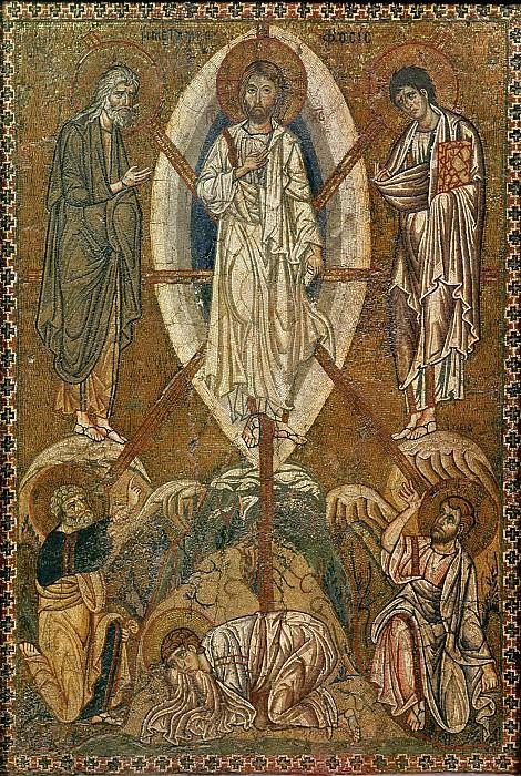Византия (11-12 век) -- Преображение Господне. Part 6 Louvre