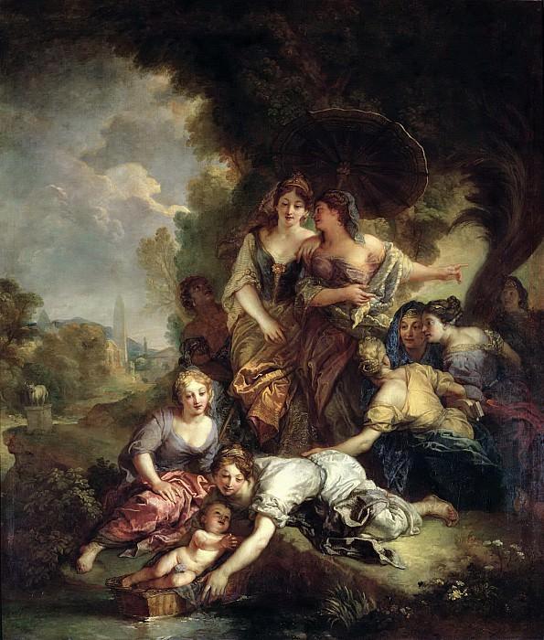Ла Фосс, Шарль де (Париж 1656-1716) -- Нахождение Моисея. Part 6 Louvre