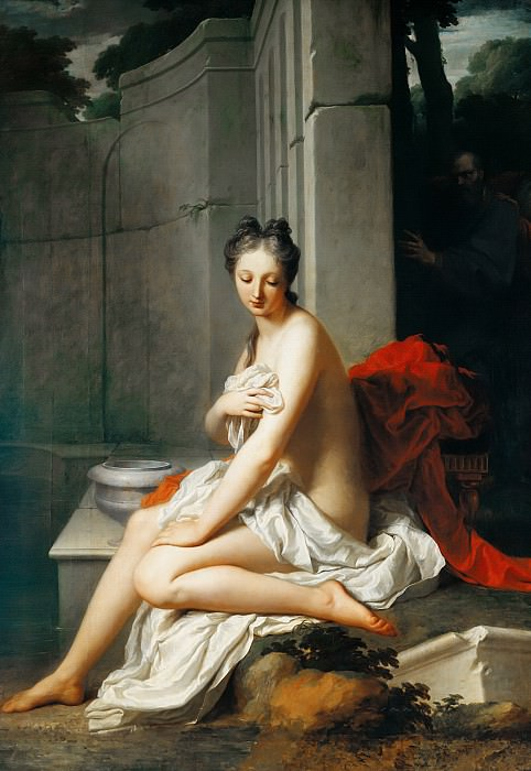 Сантерр, Жан Батист (1658 Маньи-ан-Вексен - 1717 Париж) -- Сусанна в купальне. Part 6 Louvre
