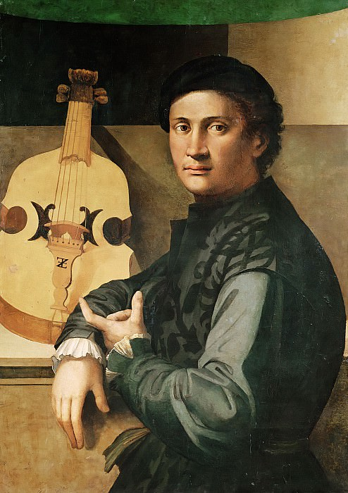 Дзаккиа, Паоло (Дзаккиа ди Антонио да Веццано) (документирован в Лукке 1519-61) -- Виолончелист. Part 6 Louvre