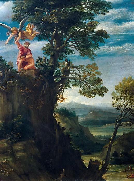 Карраччи, Аннибале (1560 Болонья - 1609 Рим) -- Жертвоприношение Исаака. Part 6 Louvre