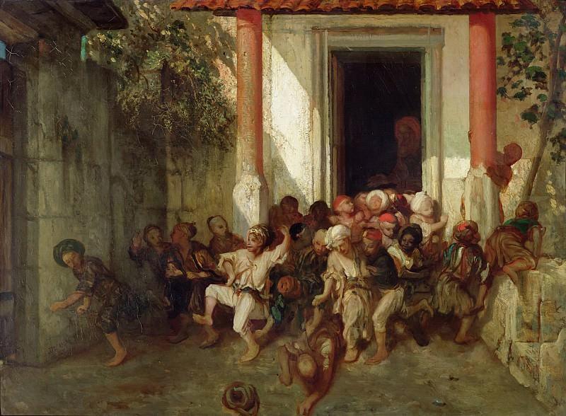 Декан, Александр-Габриэль (1803 Париж - 1860 Фонтенбло) -- Окончание занятий в турецкой школе. Part 6 Louvre