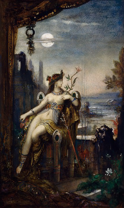 Моро, Гюстав (Париж 1826 - 1898) -- Клеопатра. Part 6 Louvre