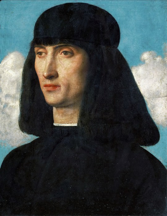 Giovanni Bellini (c.1433-1516) -- Portrait of a Man. Part 6 Louvre