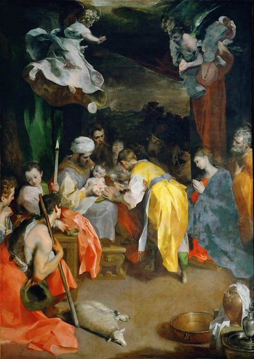 Federico Barocci (1526-1612) -- Circumcision of Christ. Part 6 Louvre