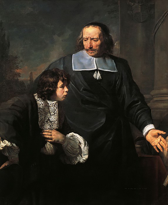 Лефевр, Клод (1632 Фонтенбло - 1675 Париж) -- Учитель и ученик. Part 6 Louvre