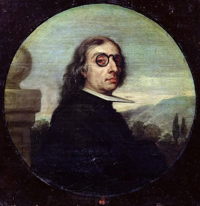 Испанская школа (17 век) -- Мужской портрет. Part 6 Louvre