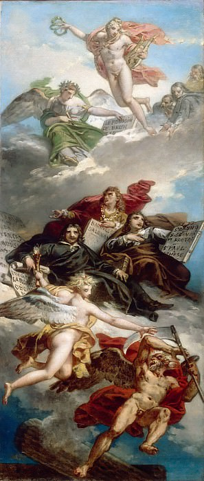Charles Meynier -- The Triumph of French Painting. Part 6 Louvre