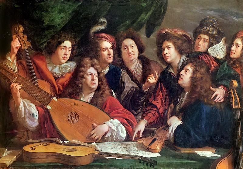 Пюже, Франсуа (1651-1707) -- Музыкальная компания. Part 6 Louvre