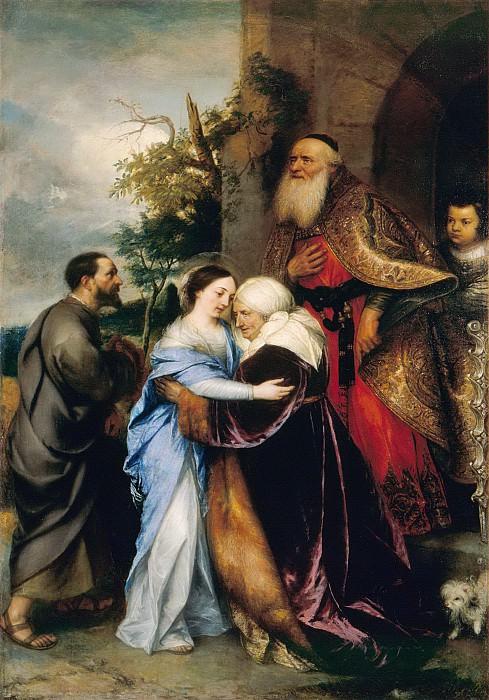 Jan Lievensz -- Visitation to Elizabeth. Part 6 Louvre