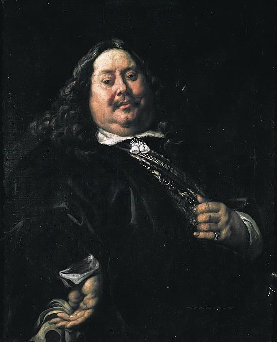 Йорданс, Якоб (Антверпен 1593-1678) -- Мужской портрет. Part 6 Louvre