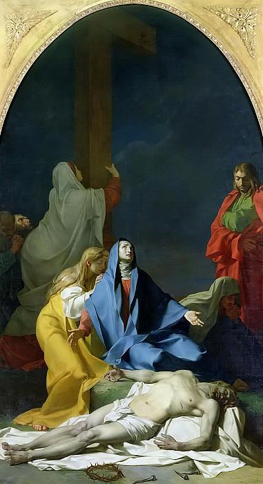 Реньо, барон Жан-Батист (Париж 1754-1829) -- Оплакивание Христа. Part 6 Louvre