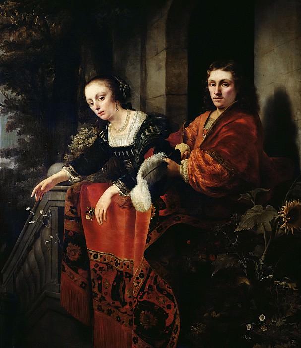 Боль, Фердинанд (1616 Дордрехт - 1680 Амстердам) -- Портрет супругов. Part 6 Louvre