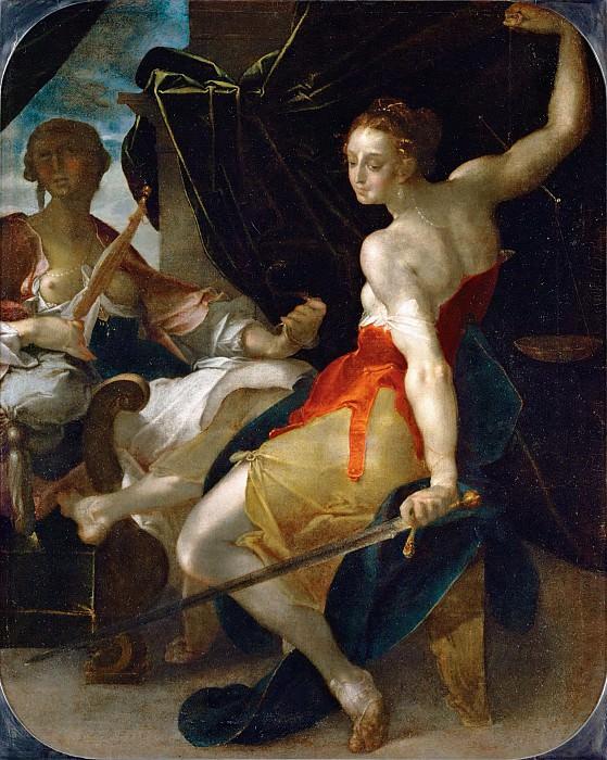 Спрангер, Бартоломеус (1546 Антверпен - 1611 Прага) -- Аллегория Закона и Порядка. Part 6 Louvre
