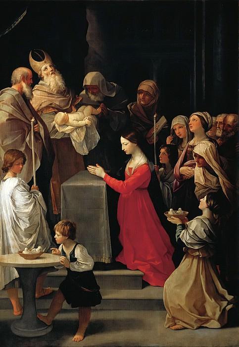 Рени, Гвидо (1575 Кальвенцано - 1642 Болонья) -- Сретение. Part 6 Louvre