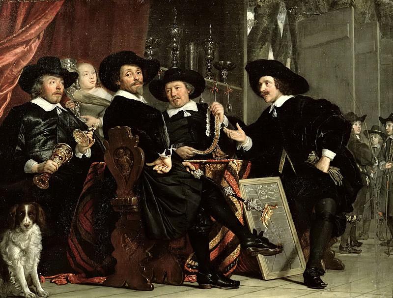 Хельст, Бартоломеус ван дер (1613 Харлем - 1670 Амстердам) -- Должностные лица гильдии лучников имени святого Себастьяна в Амстердаме. Part 6 Louvre
