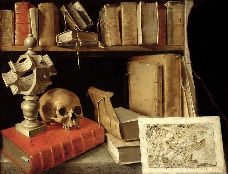 Французская школа (17 век) -- Ванитас. часть 6 Лувр