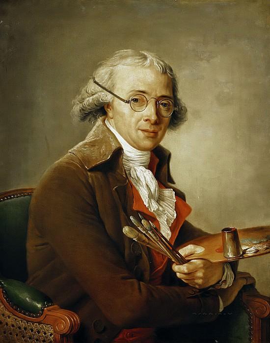 Лабий-Гийар, Аделаида (Париж 1749-1803) -- Портрет Франсуа-Андре Венсана (1746-1816). Part 6 Louvre
