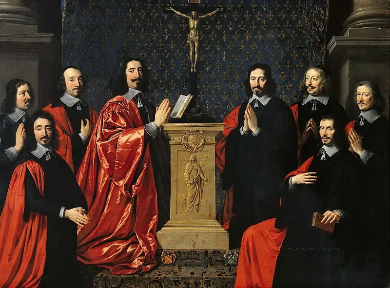 Шампень, Филипп де (1602 Брюссель - 1674 Париж) -- Парижские прево и финансисты. Part 6 Louvre