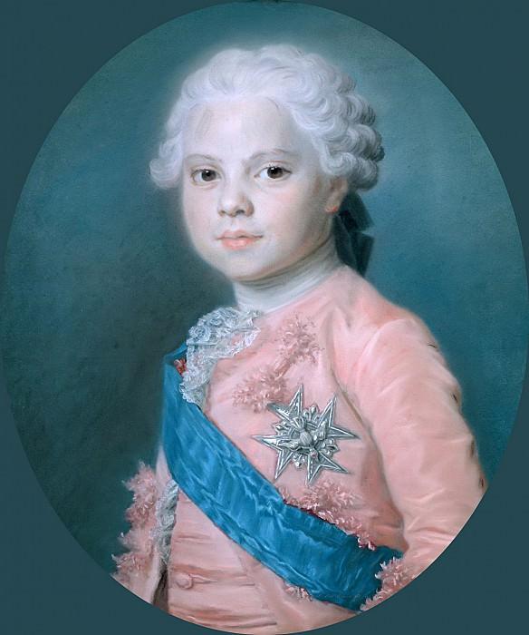Ла Тур, Морис-Кантен де (Сен-Кантен 1704-1788) -- Людовик Французский (1755-1824), граф Прованский и будущий король Людовик XVIII. Part 6 Louvre