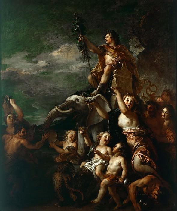 Ла Фосс, Шарль де (Париж 1656-1716) -- Триумф Вакха. Part 6 Louvre