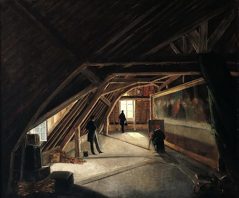 Буо, Этьен (1780 Бард-ле-Пуассе - 1862 Семюр), приписывется -- Музейная мансарда. Part 6 Louvre