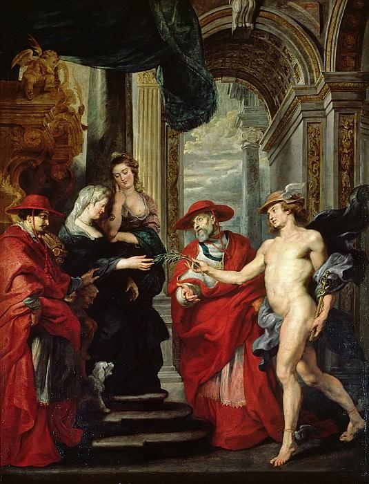 Angoulême contract. Peter Paul Rubens