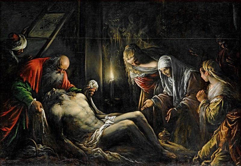 Jacopo Bassano il Vecchio (c.1510-1592) -- Deposition. Part 6 Louvre