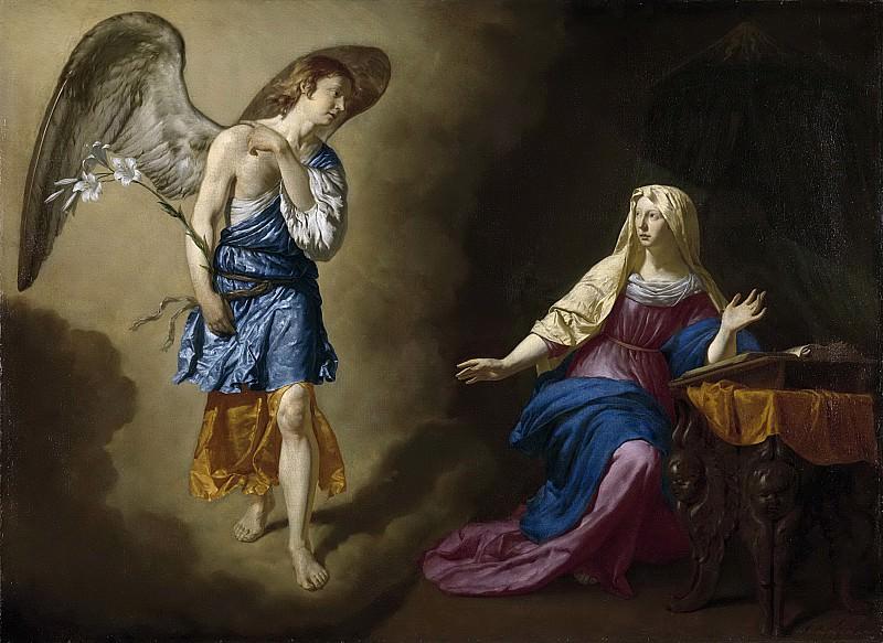 Адриан ван де Вельде -- Благая весть для Марии, 1667. Рейксмузеум: часть 1
