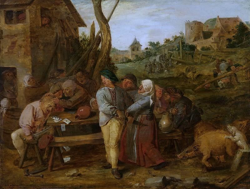 Brouwer, Adriaen -- Boerenvechtpartij, 1620-1630. Rijksmuseum: part 1