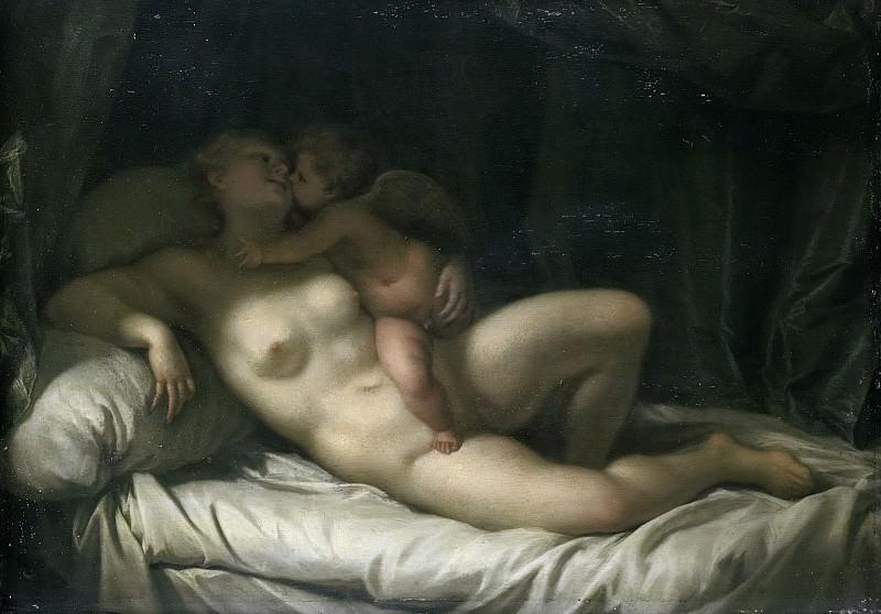 Werff, Adriaen van der -- Venus door Amor gekust, 1700-1725. Rijksmuseum: part 1