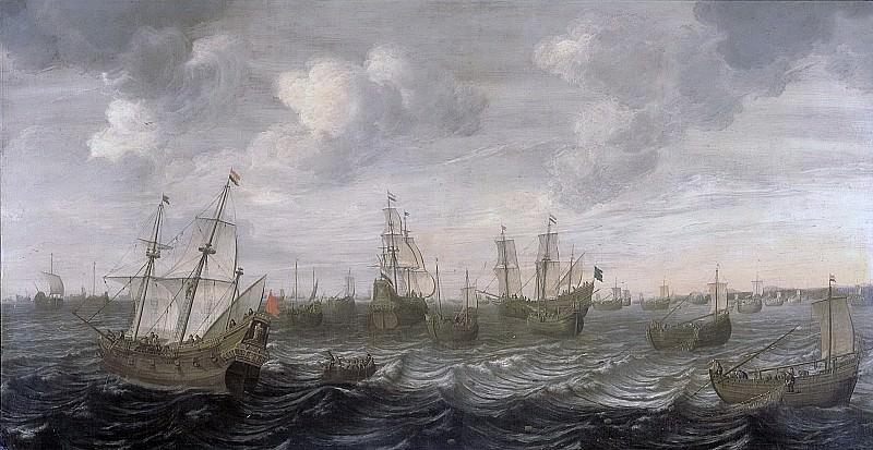 Beelt, Cornelis -- De Hollandse haringvloot onder zeil., 1660 - 1701. Rijksmuseum: part 1