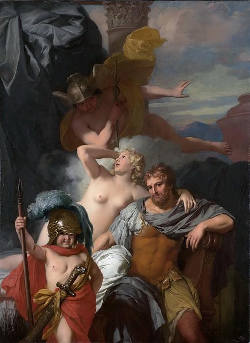 Lairesse, Gerard de -- Mercurius gelast Calypso om Odysseus te laten vertrekken, 1678. Rijksmuseum: part 1