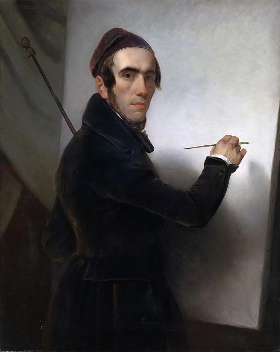 Schmidt, Willem Hendrik -- Zelfportret, 1840 - 1849. Rijksmuseum: part 1