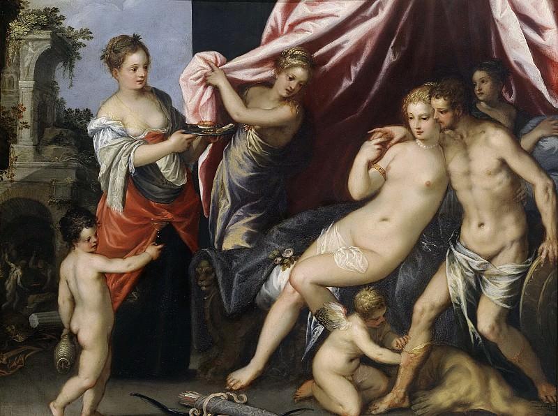 Rottenhammer, Hans (I) -- Venus en Mars, 1604. Rijksmuseum: part 1