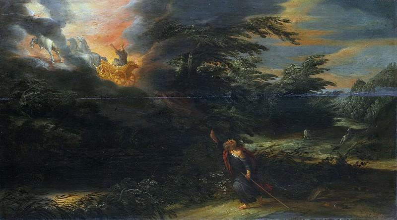 Colijns, David -- De hemelvaart van Elia, 1627. Rijksmuseum: part 1