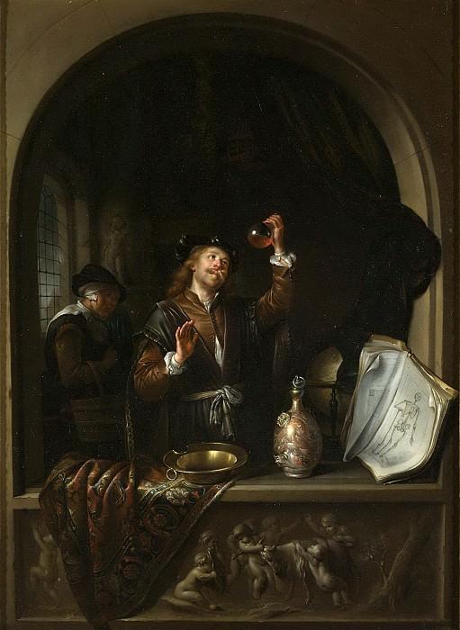 Dou, Gerard -- De dokter, 1650 - 1669. Rijksmuseum: part 1