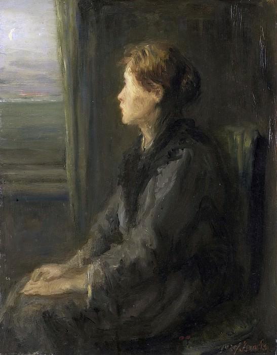 Israëls, Jozef -- Vrouw aan een raam, 1880 - 1911. Rijksmuseum: part 1
