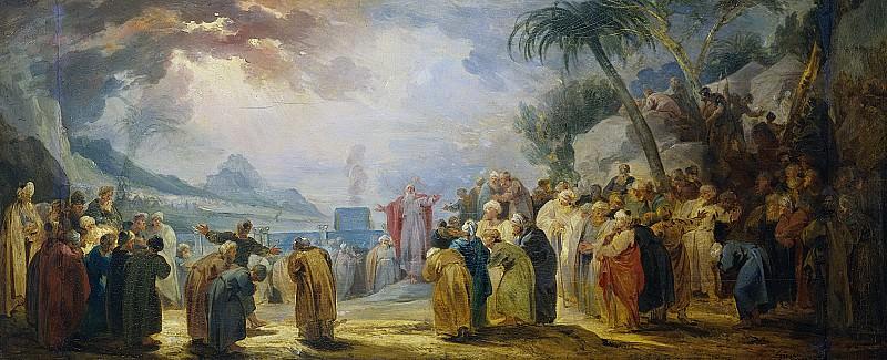 Wit, Jacob de -- Mozes verkiest de zeventig oudsten, 1736 - 1737. Rijksmuseum: part 1